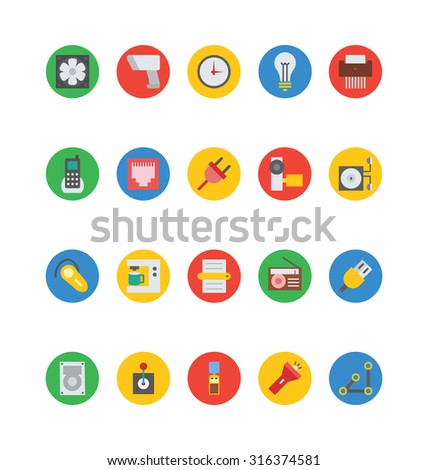 Electronics Vector Icons 5