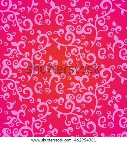 floral pattern, vector, abstract, pink
