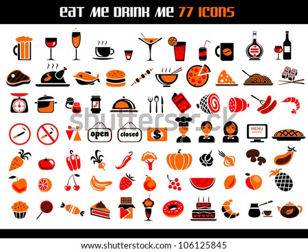 food menu icon stock images royalty free images vectors