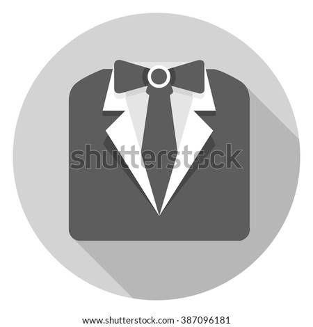 formal official  suit  icon