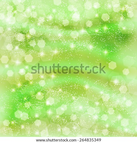 Fresh green light background