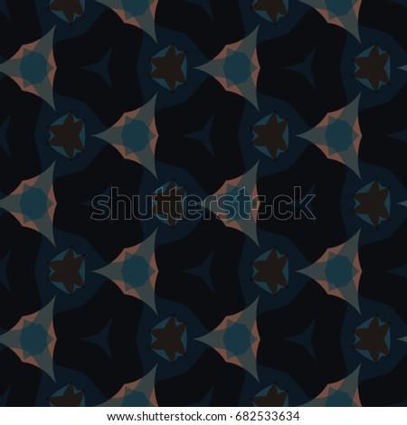 Geometric Pattern Ceramic Tile Surface Design Stock Vector - Ceramic tile star designs