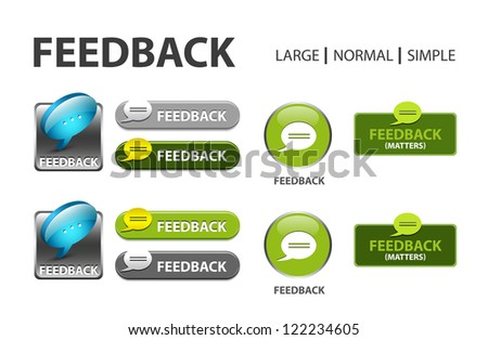 glossy web button with comment sign. comment bubble shape icon with shadow - stock vector
