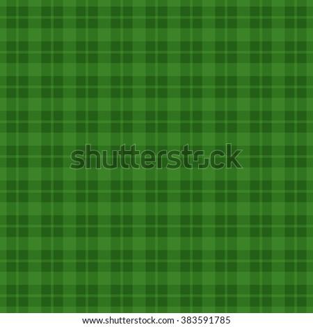 Green checkered pattern background. Vector illustration EPS10 - stock vector