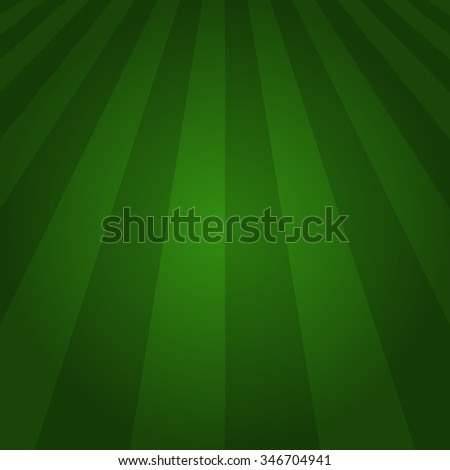 green soccer field or football field. vector illustration - stock vector