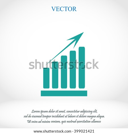 growth diagram icon