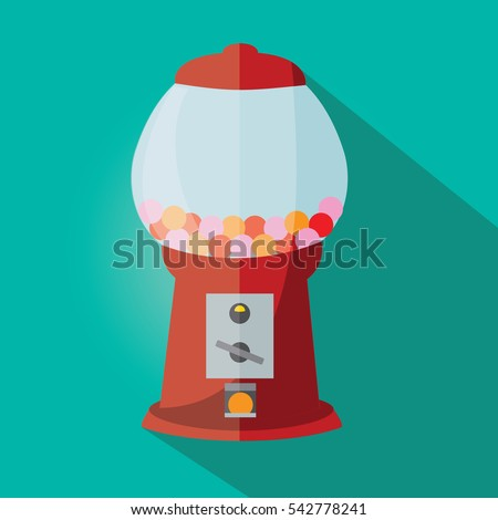 Gumball machine stock images royalty free images vectors gumball machine illustration isolated in a green background pronofoot35fo Images