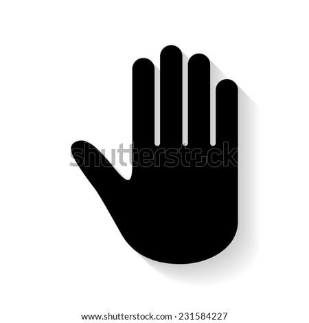 hand vector stock vector 231584227 shutterstock rh shutterstock com hand vector pick hand vector free download