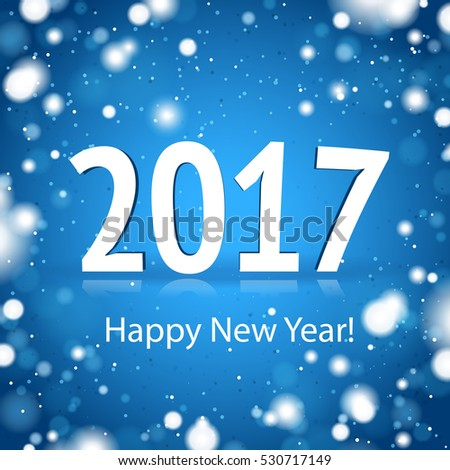 2017 Happy New Year Card
