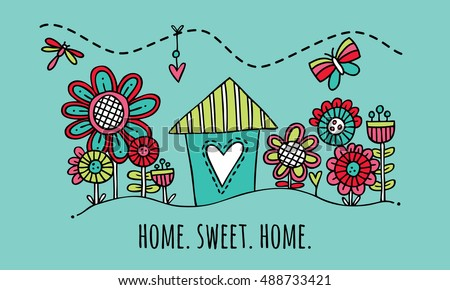 Home Sweet Home Stock Images Royalty Free Images Vectors