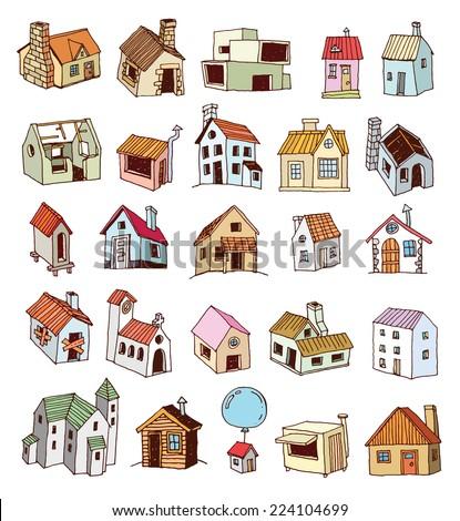 House icon, vector illustration. - stock vector