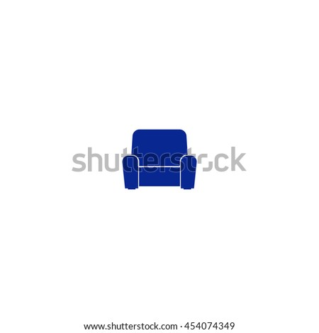 icon of furniture. Vector illustration - stock vector
