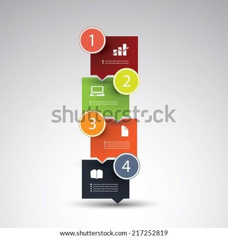 Infographics Design - stock vector