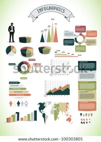 Information Graphics - stock vector