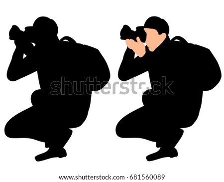 Paparazzi Vector Stock Images, Royalty-Free Images ...