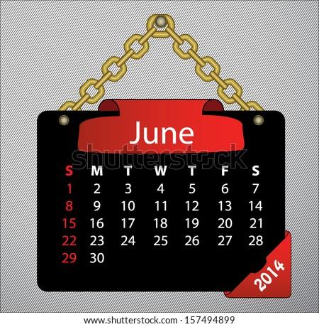 89 2014 June Calendar Template 1280x960px Preview Calendar 2014