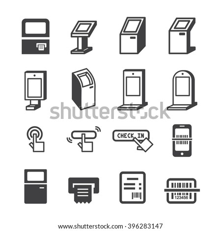 Kiosk Icon Stock Vector 396283147 Shutterstock