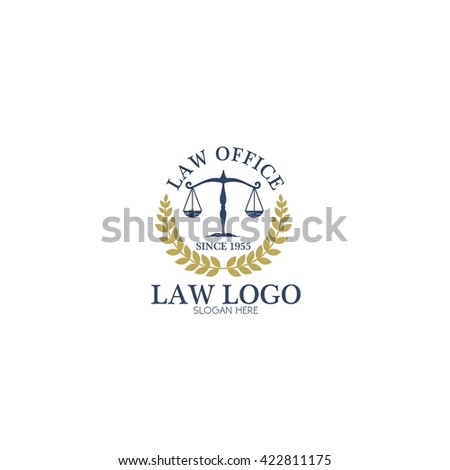 Law and Attorney Logo Template