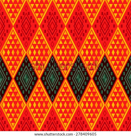 Modern pattern design of Thailand culture. texture for web and print, fashion fabric, packaging or products design.