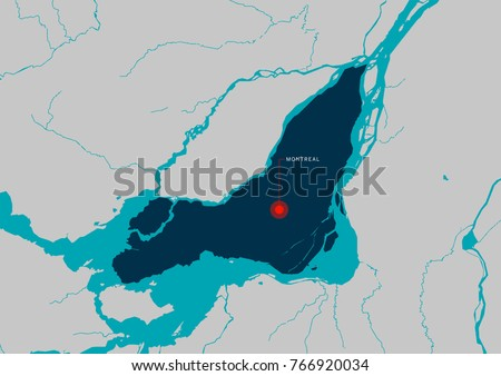 Montreal map montreal city quebec canada stock vector 2018 montreal map montreal city quebec canada stock vector 2018 766920034 shutterstock gumiabroncs Choice Image
