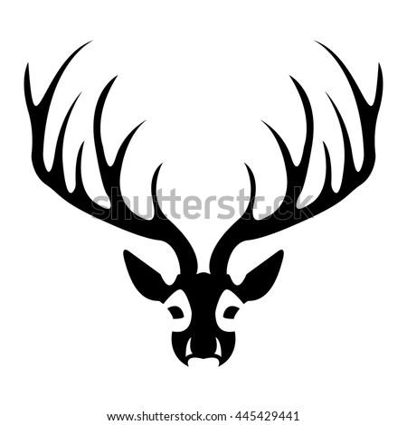 Elk head logo