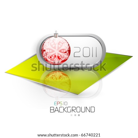 2011 new year - stock vector