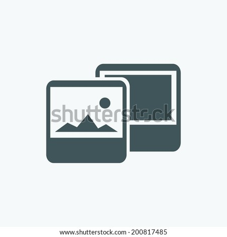 photography icons. - stock vector