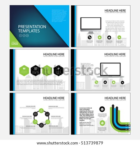 Presentation templates, Infographic elements template flat design set for annual report brochure flyer leaflet marketing advertising banner template.