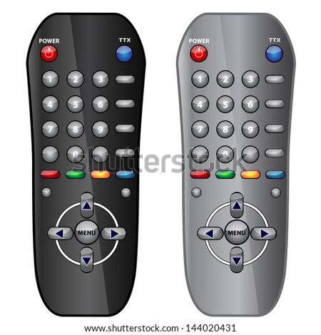 remote control - stock vector