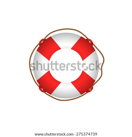 ring life - stock vector