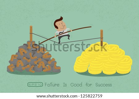 risks and challenges in business to success , eps10 vector format - stock vector