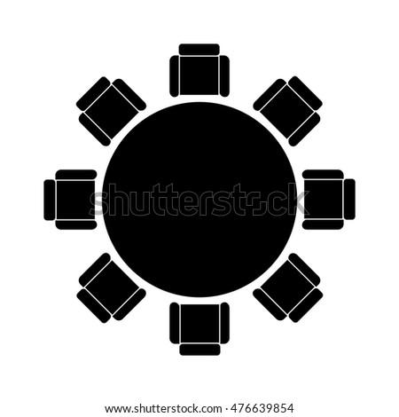 Risultati immagini per round table icon