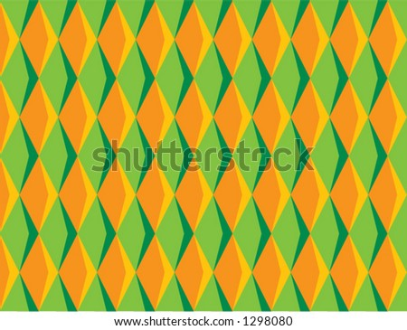 70's Diamond Pattern