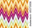 60s Retro florentine Stripe Seamless Tile. Vector version. - stock photo