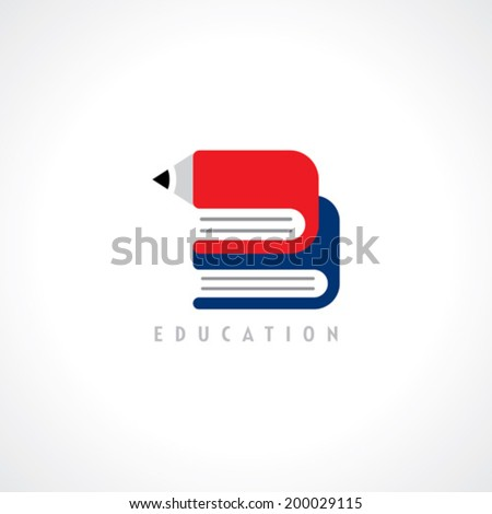 school education design elements - stock vector