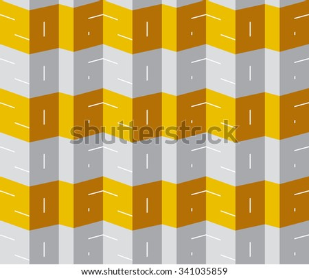2016 seamless wrapping paper pattern - stock vector