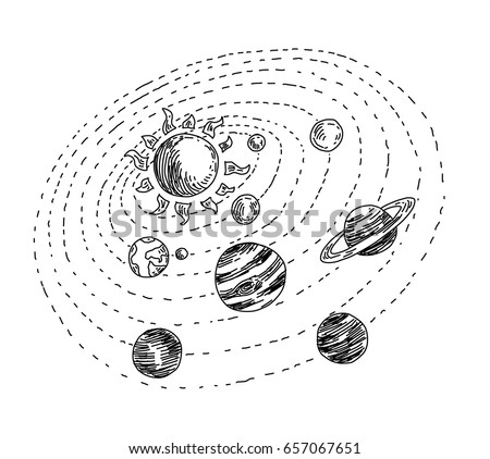 solar system stock images  royalty