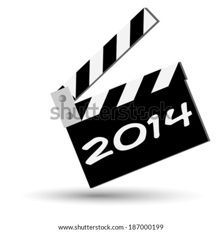 2014 sign eps10 - stock vector