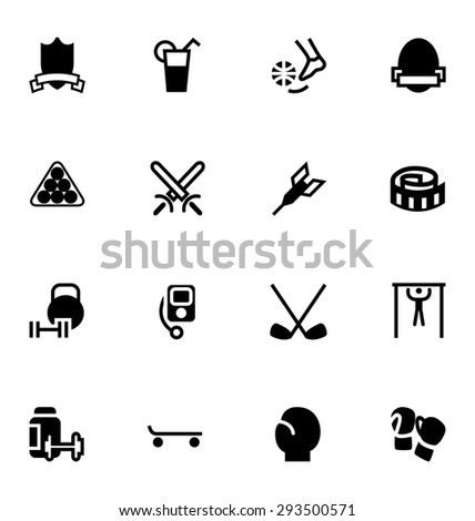 Sports Vector Icons 12