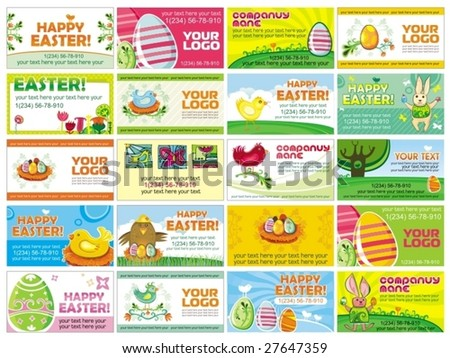 20 spring Easter cards. . To see similar, please VISIT MY GALLERY.