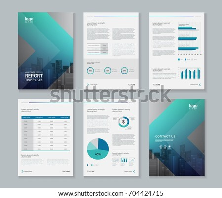 4 page brochure template