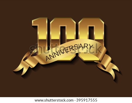 100 Anniversary Stock Images Royalty Free Images Vectors