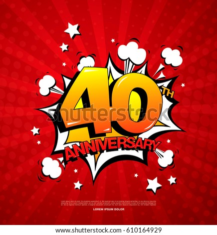 36th Anniversary Emblem Thirty Six Years Stock Vector ...