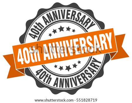 40th Anniversary Stock Images, Royalty-Free Images & Vectors ...