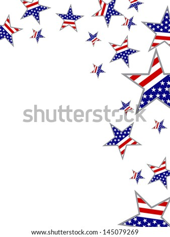 4th july independence day - stock vector