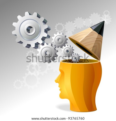 The Next Big Business Idea - stock vector