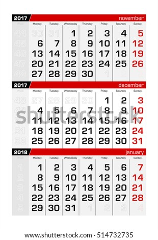 3 Month Calendar Stock Images, Royalty-Free Images & Vectors ...