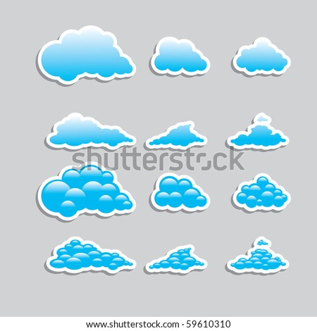 Universal icons - Set (Weather) for you - stock vector