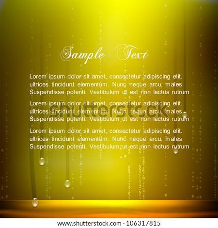 Vector Beer background - stock vector