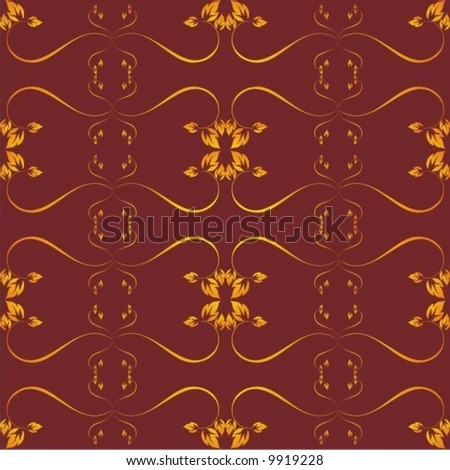 3-vector floral backgrounds - stock vector
